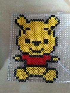 Winnie the Pooh perler beads by Sara Rodriguez
