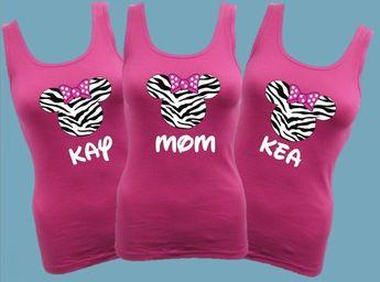 Disney Zebra Print Tank top