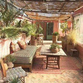 Terrasse bohème