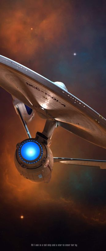 Nice rendition of the Enterprise