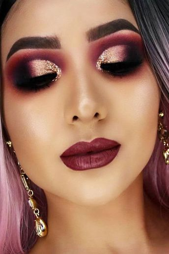 15 Fall Makeup Looks to Try This Season : Fall Makeup Ideas 2019