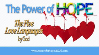 """""""The Five Love Languages"""" by God"""