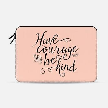 Have Courage and Be Kind Peach (sleeve)