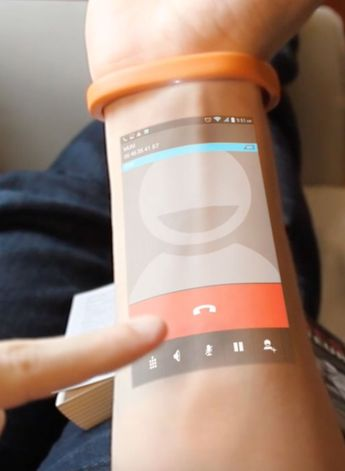 WTF: This Wearable Turns Your Skin into a Touchscreen