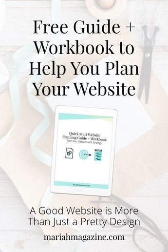 Your website is your biggest business asset. Isn't it about time you starting using it strategically? Snag this free guide and let�s start planning! via @mariahmagazine