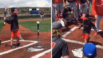 FOX NEWS: 4-year-old cancer patient hits home run