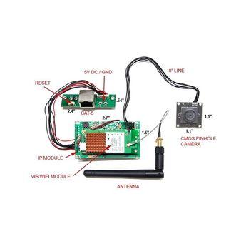 DIY 4K Hidden Camera w/ DVR & Wifi Remote Streaming Kit