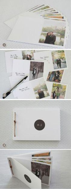 10 Mini álbumes para regalarle a tu pareja en su próximo aniversario