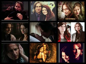 Rumbelle- that awkward moment when a tv show takes over your life and you are obsessed with the weirdest couple ever.... Gotta love RUMBELLEEEE <3