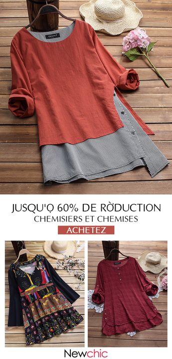 Chemisiers et chemises