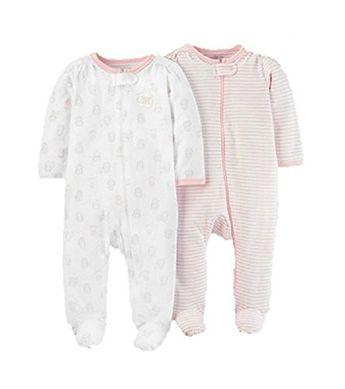 ec8120bab68a Gerber Baby Girls  4 Pack Sleep  n Play