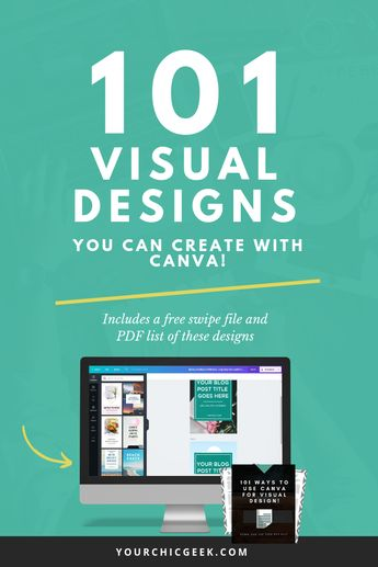 How to Use Canva: 101 EPIC Designs You Can Create (Includes Printable) - YourChicGeek