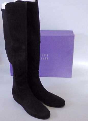 a16f238f485  50% OFF~~NEW Stuart Weitzman Suede Stretch Hidden Wedge Over The Knee