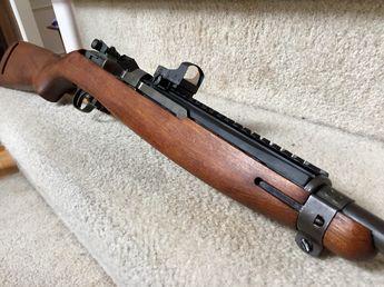 M1 Carbine With M84 Scope