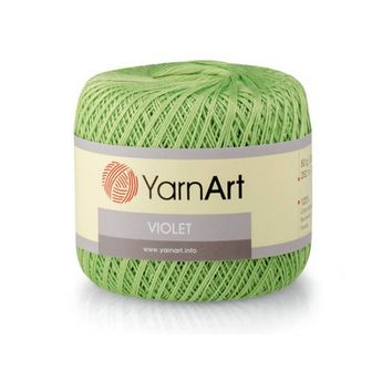 e27fec007b978 Violet YarnArt Mercerized cotton Yarn for knitting Crochet yarn Cotton yarn  Summer yarn Cotton yarn Hand