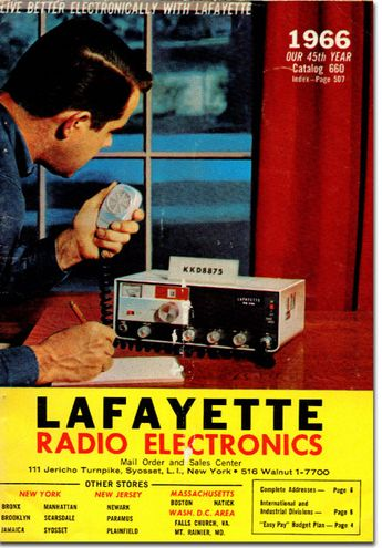 picture of 1966 Lafayette Radio catalog