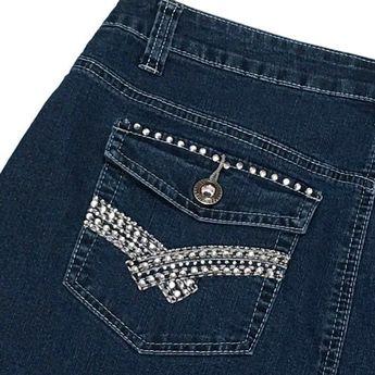 20896971 Details about Cato Modest Denim Skirt 14 Black A-line Stretch Bling 35W 34L  Maxi