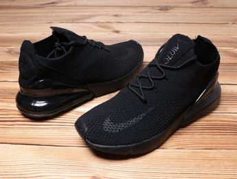 the latest ac553 3c018 Adaptable Nike Air Max 270 Retro All Black Men s Sneaker Shoes Casual