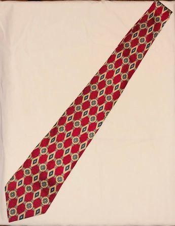 6f8bb738165c Vintage Two-Tone Tommy Hilfiger Mens Neck Tie VTG 100% Italian Silk #fashion