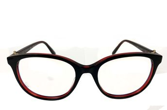 a7033aa4763 Cartier C Décor Black Acetate Wayfarer Optical Eyewear CT0007O-001