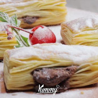 #YummyResepDasar Puff Pastry Follow @Yummy.IDN @IDNTimes.Video #puff #pastry
