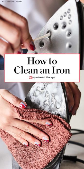 How to Clean an Iron, 6 Different (Easy!) Ways