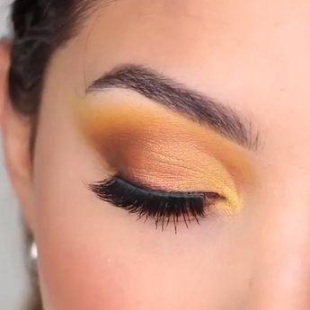 Summerish eye makeup tutorial is just around the corner!