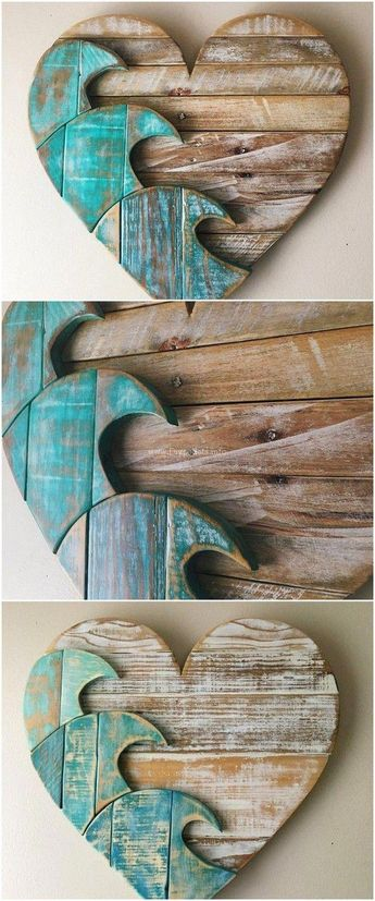 40+ diy pallet wooden creations for home uses