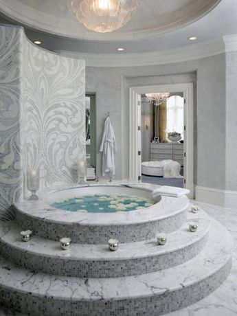 Drop-In Bathtub Design Ideas: Pictures & Tips From