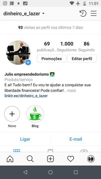 Julio empreendedorismo 👩💻 (@dinheiro_e_lazer) • Instagram photos and videos