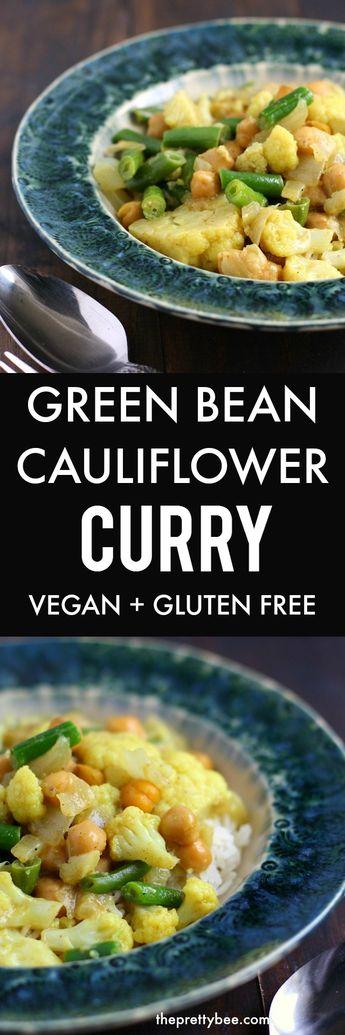 Green Bean and Cauliflower Curry