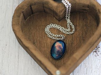 Carina Nebula, Carina Nebula Necklace, Carina Necklace, Carina Nebula Pendant, Nebula Necklace, Spac
