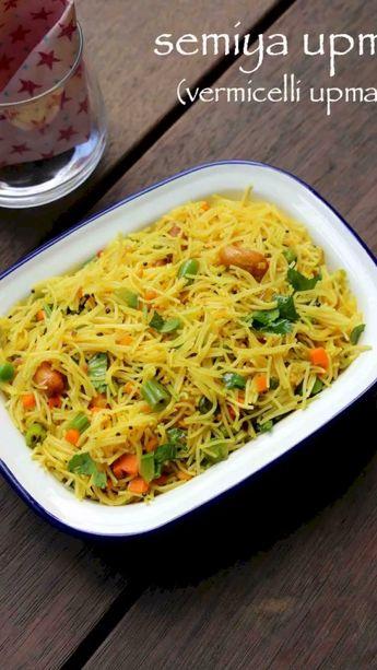 Semiya upma recipe | vermicelli upma recipe | vermicelli
