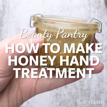 How to Make a Honey Hand Treatment