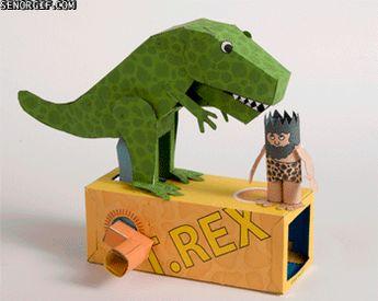 Papercraft T-Rex
