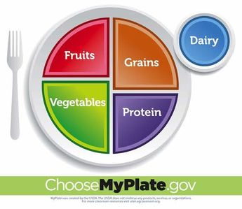 MyPlate Activity Poster