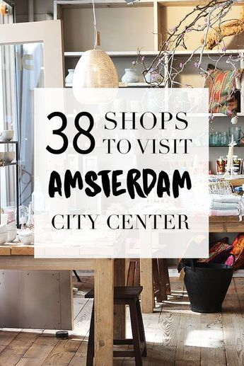 Shopping in the City Center >> Amsterdam City Guide >>