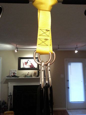 DIY Suspension Training Equipment