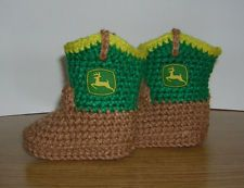 John deere crochet I would LOVE to have these boots!!!!  ) 2475ed07e26