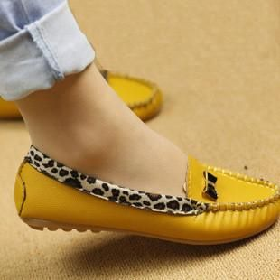 Women Fashion Leopard Flat Loafers Slip-On – PriceSolution4U™