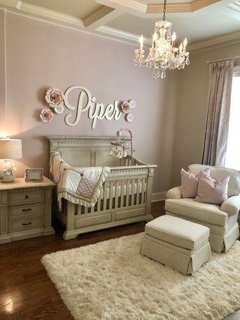 21+ Baby Girl Nursery Ideas That Are So Dreamy