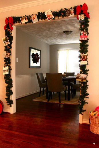DIY Christmas Card Holder | Fleurdille