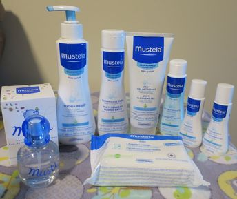 mustela baby care product review