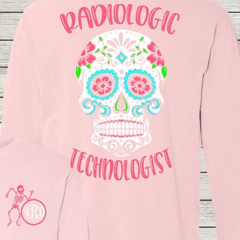f39cbda6 Radiologic Technologist Rad Tech Monogrammed Customized Shirt Personalized  Comfort Colors by AutumnReeseDesigns on Etsy
