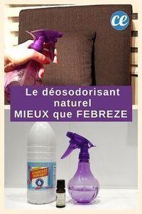 Le Désodorisant Naturel à 0,50 € Encore MIEUX QUE FEBREZE !