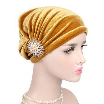 Women's Cotton Countryside Floral Twist Beanie Cap Turban Chemotherapy Cap Online Cheap - NewChic Mobile