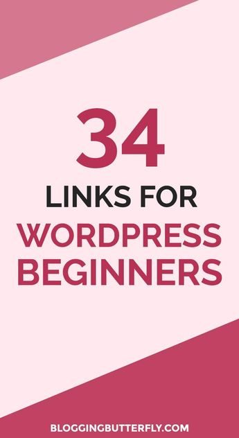 How to Use WordPress for Beginners: 34 links to WordPress tips, plugins, themes, and tutorials for new bloggers. Some of the best advice for self-hosted WordPress blogs. Read this and more blogging tips for beginners.