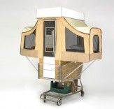 Camper Kart is a Tiny Home That Pops Out of a Shopping Cart...