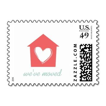 Cayenne House With Love Weve Moved Postage