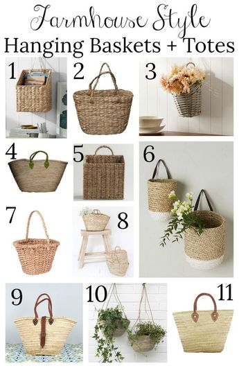 Friday Favorites: A Vintage Scale, Hanging Baskets + More